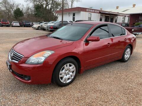 2009 Nissan Altima for sale at M & M Motors in Angleton TX