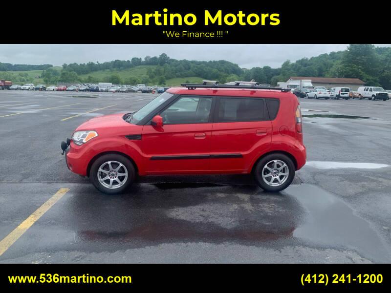 2010 Kia Soul for sale at Martino Motors in Pittsburgh PA