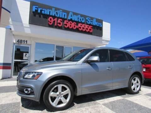 2011 Audi Q5 for sale at Franklin Auto Sales in El Paso TX