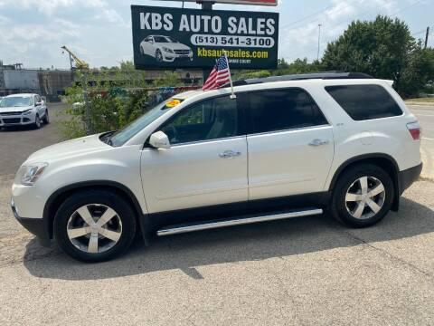 2012 GMC Acadia for sale at KBS Auto Sales in Cincinnati OH