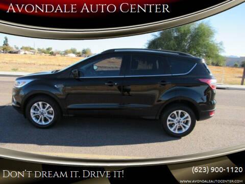 2017 Ford Escape for sale at Avondale Auto Center in Avondale AZ