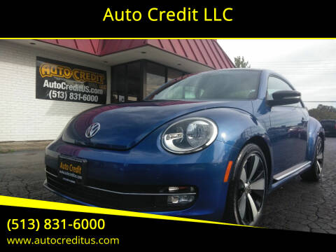 2012 Volkswagen Beetle for sale at Auto Credit LLC in Milford OH