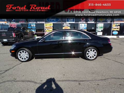 2007 Mercedes-Benz S-Class for sale at Ford Road Motor Sales in Dearborn MI