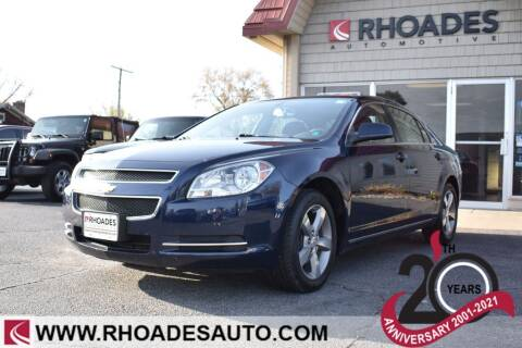 2011 Chevrolet Malibu for sale at Rhoades Automotive in Columbia City IN