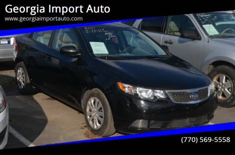 2013 Kia Forte for sale at Georgia Import Auto in Alpharetta GA