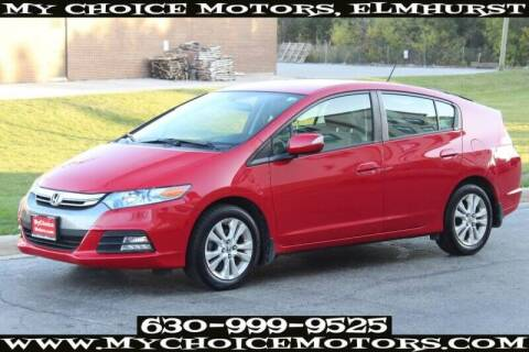 2012 Honda Insight for sale at My Choice Motors Elmhurst in Elmhurst IL