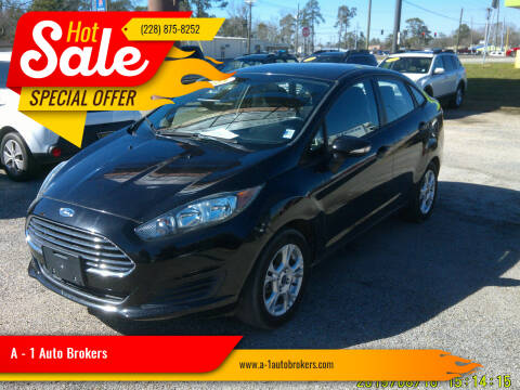 2015 Ford Fiesta for sale at A - 1 Auto Brokers in Ocean Springs MS