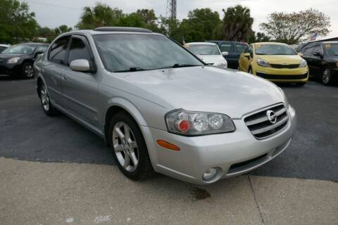 2003 Nissan Maxima for sale at J Linn Motors in Clearwater FL