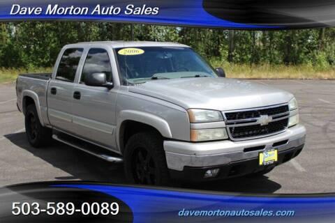 2006 Chevrolet Silverado 1500 for sale at Dave Morton Auto Sales in Salem OR