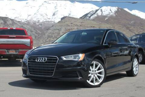 2015 Audi A3 for sale at REVOLUTIONARY AUTO in Lindon UT