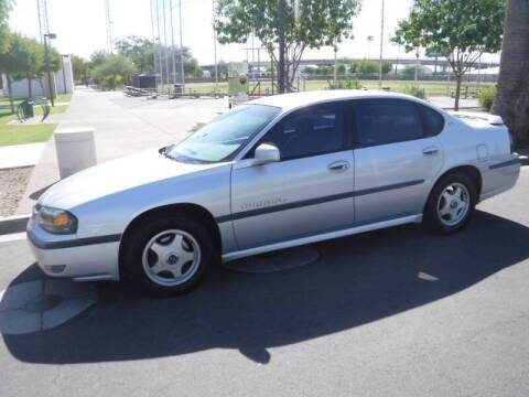 2003 Chevrolet Impala for sale at J & E Auto Sales in Phoenix AZ