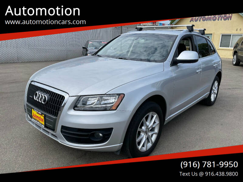 2012 Audi Q5 for sale at Automotion in Roseville CA