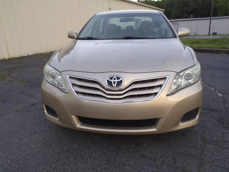 2010 Toyota Camry for sale at Wheels To Go Auto Sales in Greenville SC