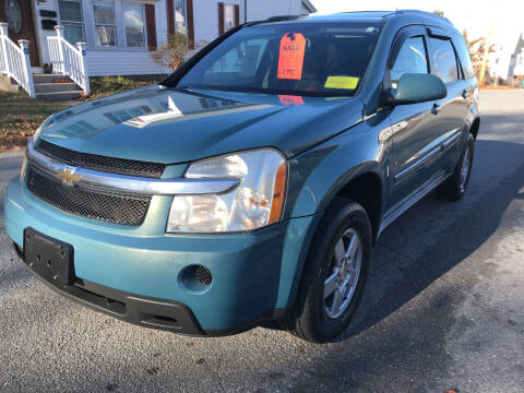 2008 Chevrolet Equinox for sale at D'Ambroise Auto Sales in Lowell MA