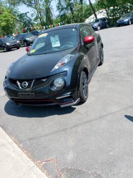 2014 Nissan JUKE for sale at King Auto Sales in Leominster MA