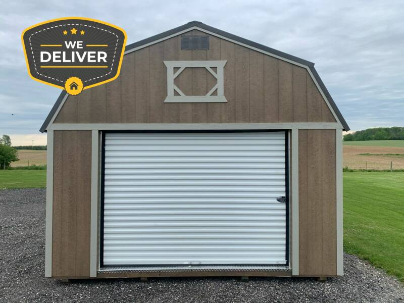 2020 DOUBLE H BUILDINGS 14X40 LOFTED GARAGE for sale at ADELL AUTO CENTER in Waldo WI