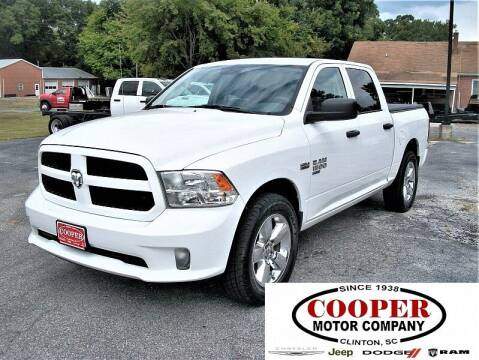 2019 RAM Ram Pickup 1500 Classic for sale at Cooper Motor Company in Clinton SC