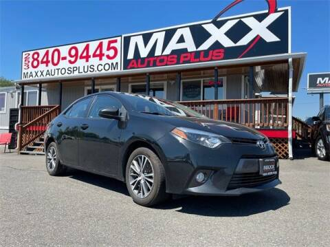 2016 Toyota Corolla for sale at Maxx Autos Plus in Puyallup WA