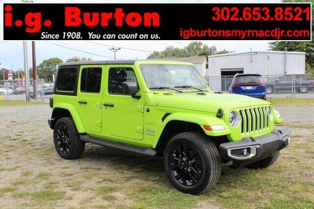 2021 Jeep Wrangler Unlimited for sale in Smyrna, DE