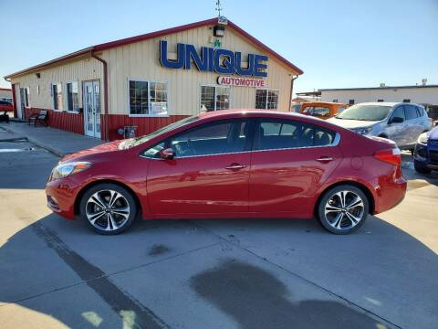 "2015 Kia Forte for sale at UNIQUE AUTOMOTIVE ""BE UNIQUE"" in Garden City KS"