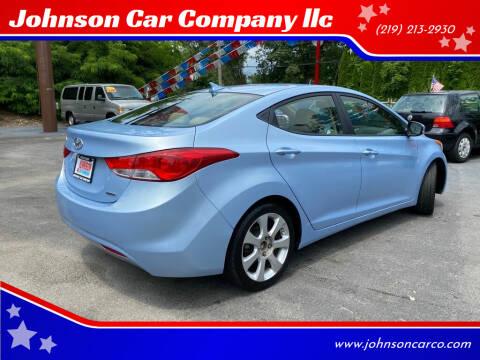 2011 Hyundai Elantra for sale at Johnson Car Company llc in Crown Point IN