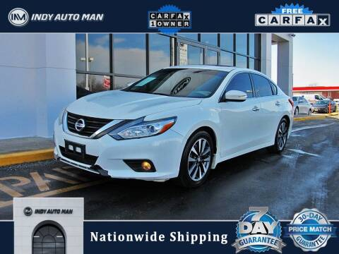 2016 Nissan Altima for sale at INDY AUTO MAN in Indianapolis IN
