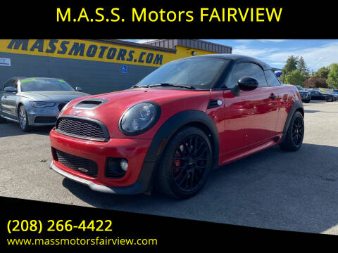 2012 MINI Cooper Coupe for sale at M.A.S.S. Motors - Fairview in Boise ID