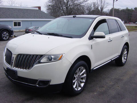 2013 Lincoln MKX for sale at North South Motorcars in Seabrook NH