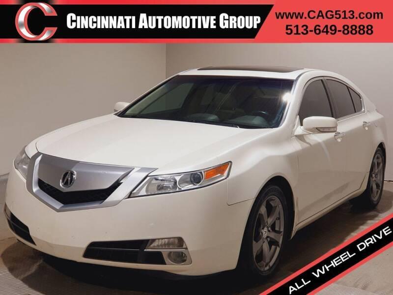 2010 Acura TL for sale at Cincinnati Automotive Group in Lebanon OH