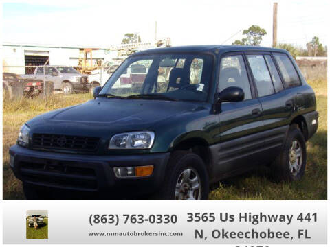 1999 Toyota RAV4 for sale at M & M AUTO BROKERS INC in Okeechobee FL