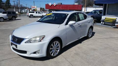 2010 Lexus IS 250 for sale at West Elm Motors in Graham NC
