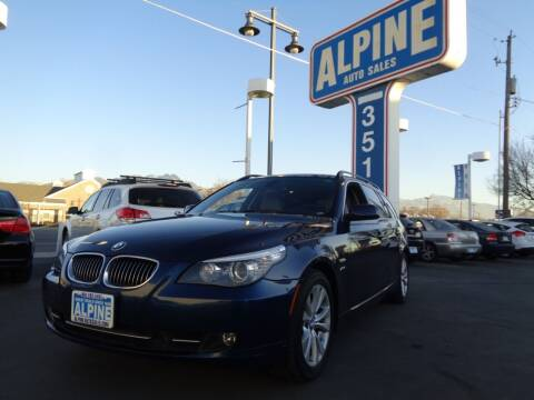 2009 BMW 5 Series for sale at Alpine Auto Sales in Salt Lake City UT