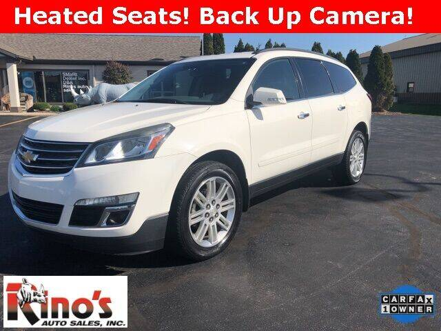 2014 Chevrolet Traverse for sale at Rino's Auto Sales in Celina OH