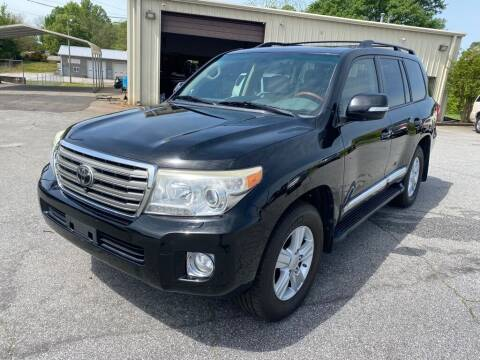 2013 Toyota Land Cruiser for sale at Brewster Used Cars in Anderson SC