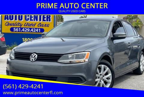 2011 Volkswagen Jetta for sale at PRIME AUTO CENTER in Palm Springs FL