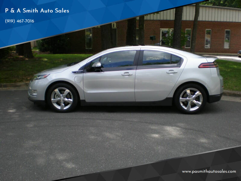 2012 Chevrolet Volt for sale at P & A Smith Auto Sales in Cary NC