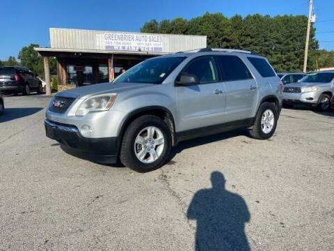 2012 GMC Acadia for sale at Greenbrier Auto Sales in Greenbrier AR