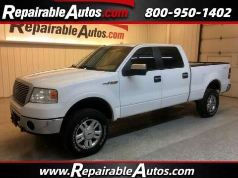 2008 Ford F-150 for sale at Ken's Auto in Strasburg ND