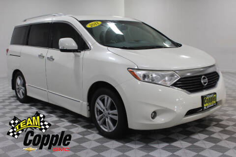 2012 Nissan Quest for sale at Copple Chevrolet GMC Inc in Louisville NE