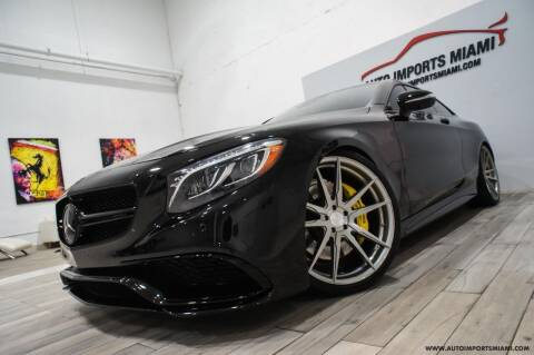 2015 Mercedes-Benz S-Class for sale at AUTO IMPORTS MIAMI in Fort Lauderdale FL