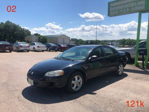 2002 Dodge Stratus for sale at Independent Auto in Belle Fourche SD