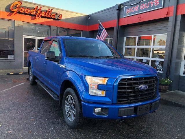 2016 Ford F-150 for sale at Goodfella's  Motor Company in Tacoma WA