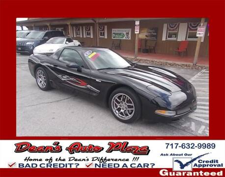 2002 Chevrolet Corvette for sale at Dean's Auto Plaza in Hanover PA
