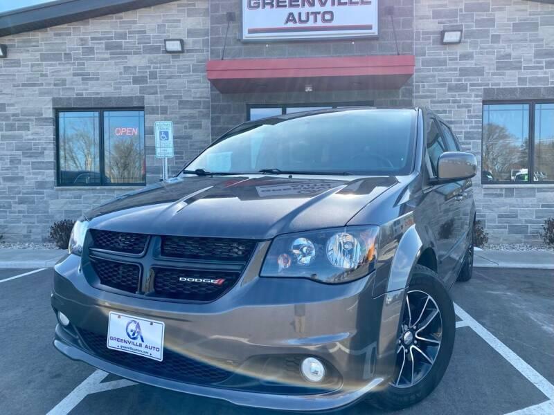 2017 Dodge Grand Caravan for sale at GREENVILLE AUTO in Greenville WI