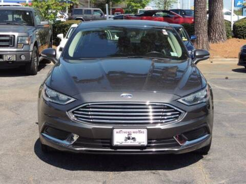 2018 Ford Fusion for sale at Auto Finance of Raleigh in Raleigh NC