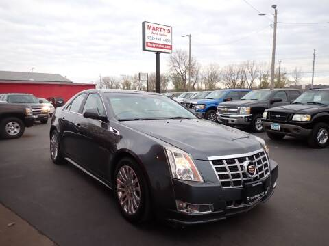 2013 Cadillac CTS for sale at Marty's Auto Sales in Savage MN