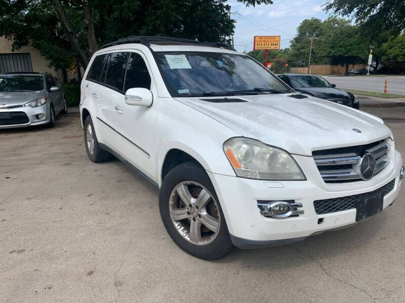 2007 Mercedes-Benz GL-Class AWD GL 450 4MATIC 4dr SUV - Dallas TX