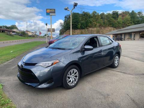 2017 Toyota Corolla for sale at WENTZ AUTO SALES in Lehighton PA