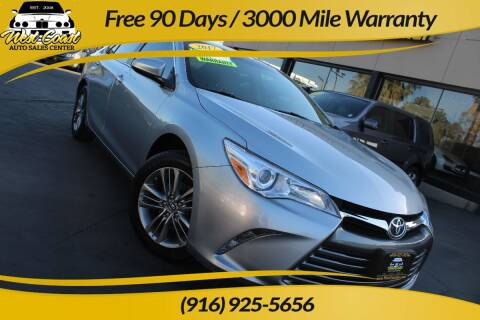2017 Toyota Camry for sale at West Coast Auto Sales Center in Sacramento CA