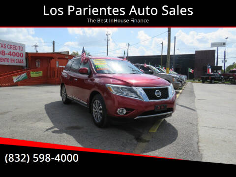 2016 Nissan Pathfinder for sale at Los Parientes Auto Sales in Houston TX